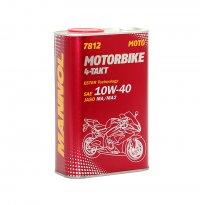 MANNOL ULEI MOTORBIKE  ESTER TECHNOLOGY 4T 10W-40 1L