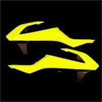 ACERBIS RADIATOR SCOOPS EXC 17-18 + SX 16-18 - FLO YELLOW
