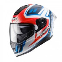 CASCA INTEGRALA CABERG DRIFT MODEL EVO GAMA (pinlock), white / blue / red FLUO