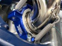 PROTECTIE FLANSA 4MX KTM/HUSQVARNA 250/300 2017-2020 BLUE