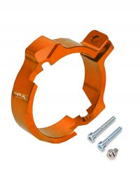 PROTECTIE FLANSA EVACUARE 4MX KTM 250/300 17-20 ORANGE