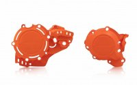 Acerbis Set Protectii Capac Ambreiaj + Aprindere KTM/Husqvarna 250/300 2020 Orange