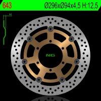 Disc Frana Fata HONDA CBR 600F '01 -'07, the CB 900F 02-07 CRF 1000L TWIN AFRICA 15-19, 01-08 VTX 1800C (296X94X4,5)
