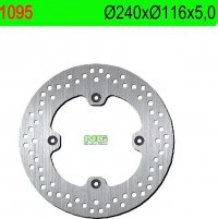 Disc frana spate Honda CBF 500/600/1000 HONDA CBR 600F 11-13 (240X116X5) (4X10,5MM)