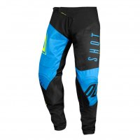 Pantaloni Shot 2020 Aerolite Alpha Blue Neon Yellow