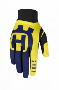 Manusi Shot 2020 Husqvarna Blue/Yellow