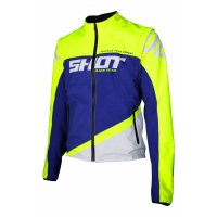 Geaca Shot 2020 Softshell Lite Blue/Neon Yellow