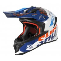 Casca Shot 2020 Lite Rush Blue-Orange