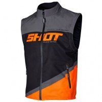 Vesta Shot 2020 Bodywarmer Lite Grey Neon Orange