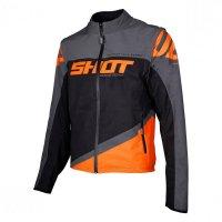 Geaca Shot 2020 Softshell Lite Grey Neon Orange