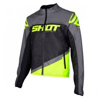 Geaca Shot 2020 Softshell Lite Grey Neon Yellow