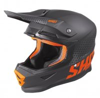 Casca Shot 2020 Furious Raw Black/Neon/Orange Matt