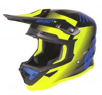 Casca Copii Shot 2020 Furious Trust Blue/Neon/Yellow Matt