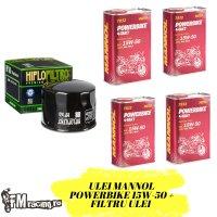 Oferta Ulei Mannol PowerBike 15W-50 4 Litri  + Filtru Ulei Gratuit