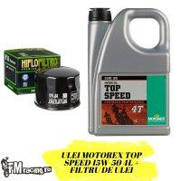Oferta Ulei Motorex TopSpeed 15W-50 4 Litri  + Filtru Ulei Gratuit