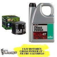 Oferta Ulei Motorex Cross Power 4T 10W-50 4L + Filtru Ulei Gratuit