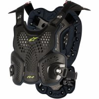 Armura Alpinestars A1 Roost Guard Black/Anthracite