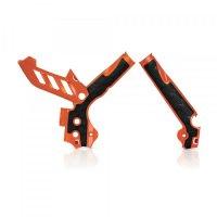 Protectii Cadru Acerbis KTM EXC - EXC-F 2012-2016 Orange