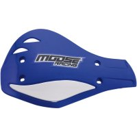 Plastice Handguard Moose Racing  Blue/White