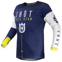 Tricou Shot 2020 Husqvarna Blue Yellow