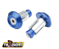 Fm-Parts Handlebar Ends Blue