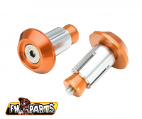 Fm-Parts Handlebar Ends Orange