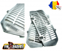 Fm-Parts UniBody Radiator Guards KTM / Husqvarna 2020-2021 Silver