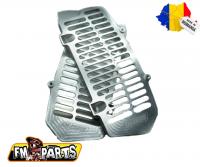 Fm-Parts Protectii Radiator UniBody KTM/Husqvarna 2020-2021 Silver