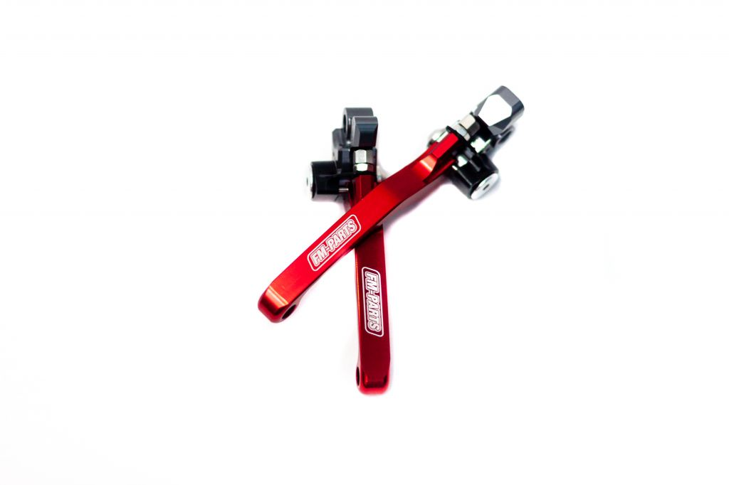Fm-Parts Foldable Lever Kit Beta RR / X-Trainer 2013-2021 Red