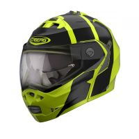 Casca Caberg (2020) Duke II IMPACT MOUNT  BLACK / FLUO YELLOW