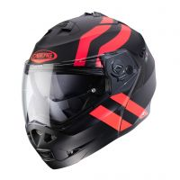 Casca Caberg (2020/2021) Casca Flip-Up DUKE II SUPERLEGEND Mat BLACK / RED FLUO Culoare Mat BLACK / RED FLUO