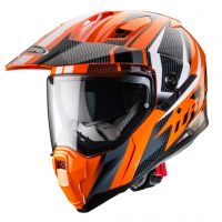 Casca Caberg (2020/2021) Casca Integrala / DUAL HELMET XTRACE SAVANA ORANGE / BLACK / ANTHRACITE Culoare ORANGE / BLACK / GRAYCasca Caberg (2020/2021) Casca Integrala / DUAL HELMET XTRACE SAVANA ORANGE / BLACK / ANTHRACITE Culoare ORANGE / BLACK / GRAY