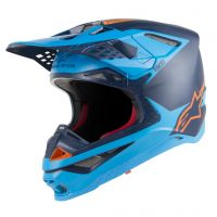 Casca Alpinestars Supertech M10 Meta Blue/Orange