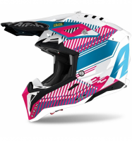 Casca Airoh Aviator 3 Wave Pink Gloss Chrome 2021