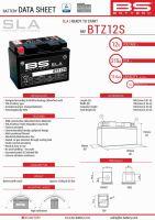 Baterie Bs Activata BTZ12S  (YTZ12S) 12V 11AH 150X86X110 Fara Intretinere