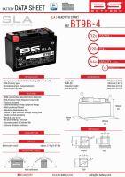 Baterie Bs Battery Activata BT9B-4  (YT9B-4) 12V 8AH 150X69X105 Fara Intretinere