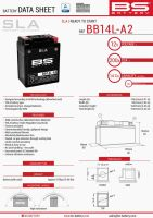 Baterie Bs Battery Activata BB14L-A2 (YB14L-A2) 12V 14AH 135X91X167  Fara Intretinere