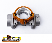 Fm-Parts Exhaust Flange Protection KTM/Husqvarna 2017-2021 Orange