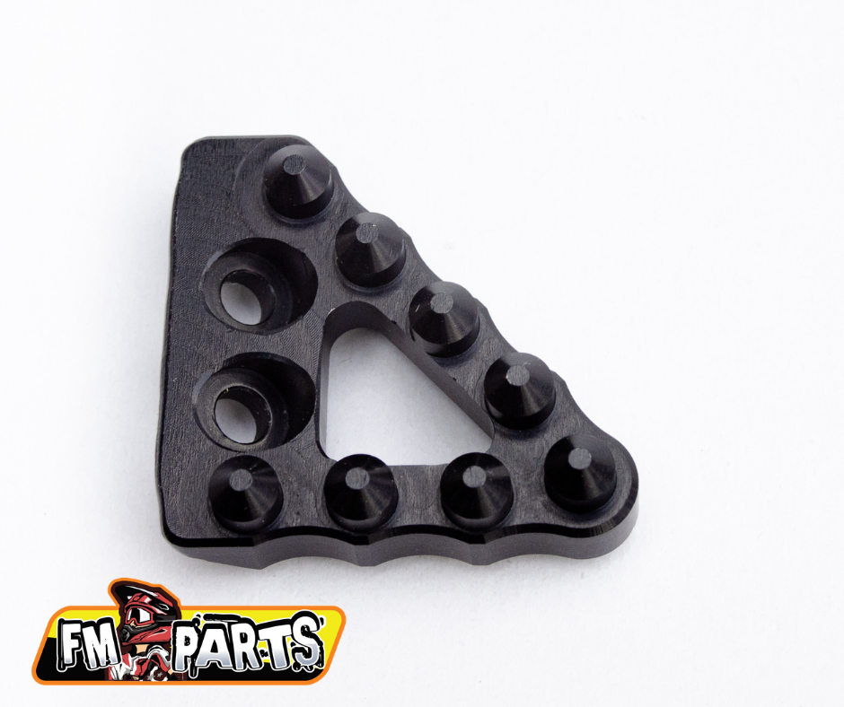 Fm-Parts Large Wide Rear Brake Pedal Step Plate, KTM/Husqvarna Black