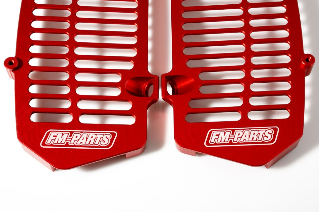 Fm-Parts UniBody Radiatoar Guards GasGas 2021 RED