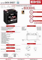 Baterie Bs Activata BIX30HL MAX  (YTX30L) 12V 30AH 166X130X175 Fara Intretinere