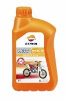 Ulei Motor 2T REPSOL Off  Road  1L  Semi  Syntetic