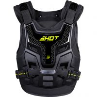 Armura Shot 2021 Fighter 2.0 Black Neon Yellow