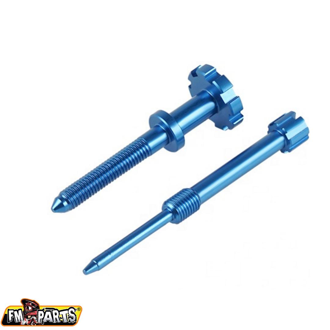 Fm-Parts Fuel Mixture&Idle Screw Keihin KTM/Husqvarna 250/300 Blue