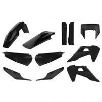 Set Plastice POLISPORT HUSQVARNA TE / FE `20-21  Culoare  BLACK