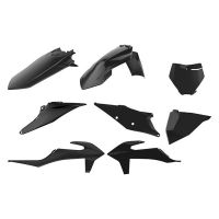 Kit de Plastice Polisport Ktm SX / SXF 19-20 XC / XC-F `19-20 Black