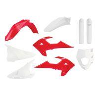 Kit Complet de Plastice Gas Gas EC250 / 300  `18-20, Rieju MR 250/300` 21 Red/White Oem Color
