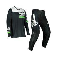 Leatt Moto 3.5 Combo  Pantalon+Tricou   Black/White/Green