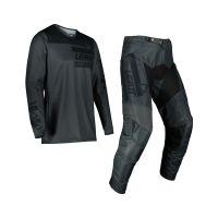 Leatt Moto 3.5 Combo Pantalon+Tricou Graphite/Black