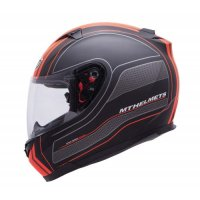 CASCA INTEGRALA MT BLADE SV RACELINE Black/Orange